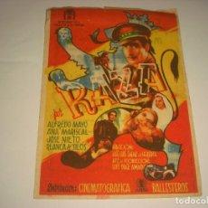 Cine: RAZA , CON ALFREDO MAYO. TIENE PUBLICIDAD. Lote 110658411