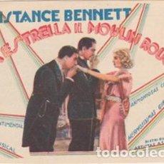 Cine: LA ESTRELLA DEL MOULIN ROUGE (CON PUBLICIDAD). Lote 110677575