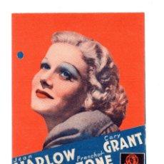 Cine: SUZY PROGRAMA DOBLE - MGM - JEAN HARLOW - CARY GRANT . Lote 110678771