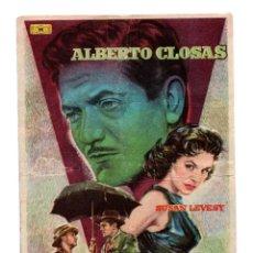 Cine: UN TESORO EN EL CIELO PROGRAMA DOBLE MUNDIAL CINE ESPAÑOL ALBERTO CLOSAS RARO. Lote 110680815