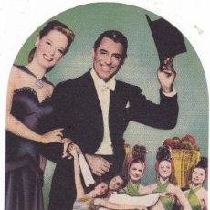 Cine: NOCHE Y DÍA CON CARY GRANT Y ALEXIS SMITH AÑO 1949 TROQUELADO CINEMAS PRINCIPAL Y LA RAMBLA. Lote 110696719