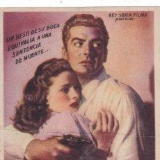 Cine: EL BESO DE LA MUERTE CON VICTOR MATURE Y BRIAN DONLEVI RICHARD WIDMARK AÑO 1949. Lote 110697759