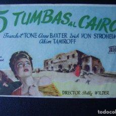 5 tumbas al cairo anne baxter erich von stroh comprar for Cairo baxter