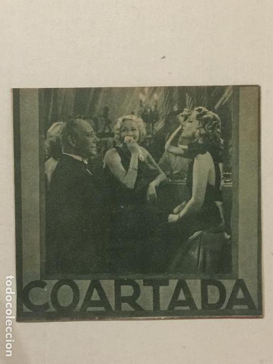 COARTADA, PROGRAMA DOBLE. SIN PUBLICIDAD. (Cine - Folletos de Mano - Comedia)