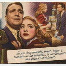 Cine: FOLLETO DE MANO DE LA PELÍCULA EL DESTINO SE DISCULPA. Lote 110759959