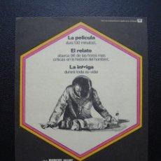 Folhetos de mão de filmes antigos de cinema: LA AMENAZA DE ANDROMEDA. Lote 110802231
