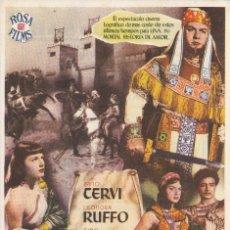 Cine: LA REINA DE SABA 1954. Lote 110906699