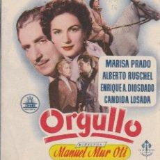 Cine: ORGULLO MANUEL MUR OTI 1956. Lote 110908691