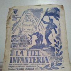 Cine: LA FIEL INFANTERIA. CINE BUENOS AIRES. BILBAO.. Lote 110952107