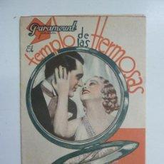 Cine: EL TEMPLO DE LAS HERMOSAS. CARY GRANT. DOBLE CON PUBLICIDAD. Lote 111321215