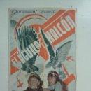 Cine: EL ÁGUILA Y EL HALCÓN. DOBLE CON PUBLICIDAD. Lote 111363367