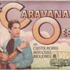 Cine: LA CARAVANA DEL OESTE (SIN PUBLICIDAD) . Lote 111521615