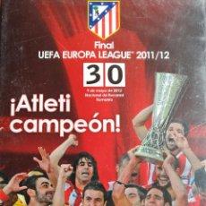 Cine: DVD FINAL EUROPA LEAGUE 2011/2012 ATLETI CAMPEON DVD NUEVO Y PRECINTADO ENVIO GRATIS. Lote 111576991