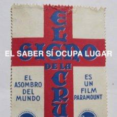 Cine: EL SIGNO DE LA CRUZ. VIÑETA PUBLICITARIA. PARAMOUNT FILMS.. Lote 111899523