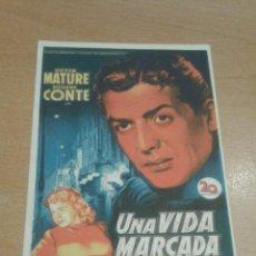 Cine: UNA VIDA MARCADA SOLITO SIMPLE. Lote 112048550