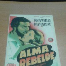 Cine: ALMA REBELDE SOLIGO SIMPLE. Lote 112048999