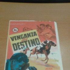 Cine: VENGANZA DEL DESTINO SIMPLE SOLIGO. Lote 112050035