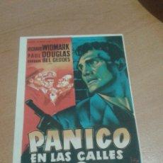 Cine: PÁNICO EN LAS CALLES SIMPLE SOLIGO. Lote 112053124