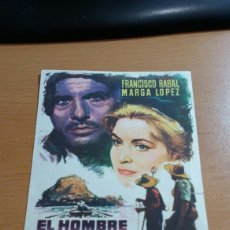 Cine: EL HOMBRE DE LA ISLA SIMPLE. Lote 112112806
