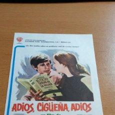 Cine: ADIÓS CIGÜEÑA ADIÓS SIMPLE. Lote 112113419