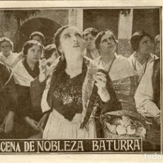 Cine: NOBLEZA BATURRA. EN TEATRO CIRCO DE CARTAGENA EL 16 DE MARZO 1927.. Lote 112159927