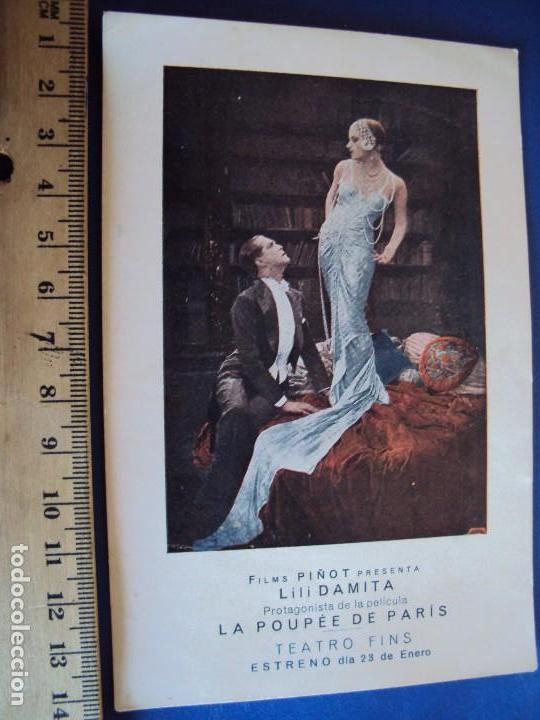 Cine: (PG-180001)PROGRAMA DE CINE DE LILI DAMITA EN LA POUPEE DE PARIS - Foto 2 - 112330695