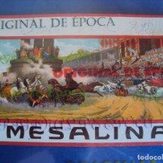 Cine: (PG-180004)PROGRAMA DE CINE MESALINA - PUBLICIDAD. Lote 112331255