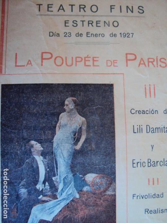 Cine: (PG-180016)PROGRAMA DE CINE DE LILI DAMITA EN LA POUPEE DE PARIS - Foto 2 - 112333615