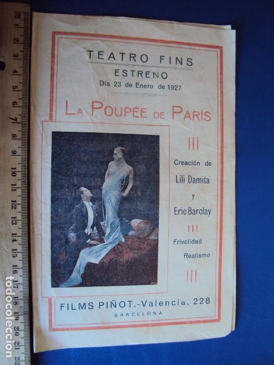 Cine: (PG-180016)PROGRAMA DE CINE DE LILI DAMITA EN LA POUPEE DE PARIS - Foto 3 - 112333615