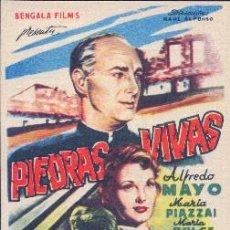 Cine: PIEDRAS VIVAS. Lote 112373095