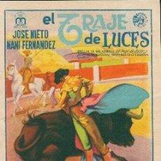Cine: EL TRAJE DE LUCES. Lote 112374279