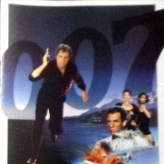Cine: 007 LICENCIA PARA MATAR - FOLLETO DE MANO TRÍPTICO. Lote 112473123