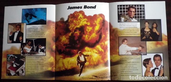 Cine: 007 Licencia para matar - Folleto de mano tríptico - Foto 3 - 112473123