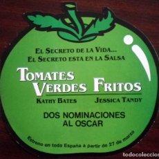 Cine: TOMATES VERDES FRITOS - FOLLETO TROQUELADO DOBLE.. Lote 112475447