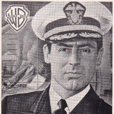 Cine: DESTINO TOKIO CON CARY GRANT, JOHN GARFIELD AÑO 1951 EN CINEMAS PRINCIPAL Y LA RAMBLA. Lote 112544115