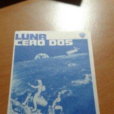 Flyers Publicitaires de films Anciens: LUNA CERO DOS CINEMA ELISEOS. Lote 112553232