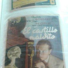 Cine: EL CASTILLO MALDITO SIMPLE. Lote 112653603
