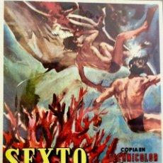 Cine: SEXTO CONTINENTE- CINES GAYARRE Y MONUMENTAL. Lote 112701787