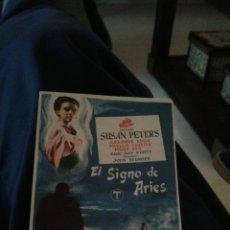 Cine: EL SIGNO DE ARIES SIMPLE. Lote 112720550