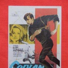 Cine: COPLAN AGENTE SECRETO, IMPECABLE SENCILLO, VIRNA LISI, C/PUBLI AVENIDA 1965. Lote 112803583