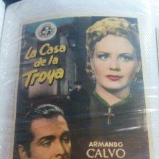Cine: LA CASA DE LA TROYA SIMPLE. Lote 112900184