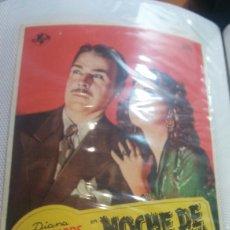 Cine: NOCHE DE PESADILLA SIMPLE. Lote 112900580