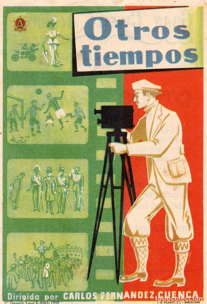 OTROS TIEMPOS, CON PUBLICIDAD (Cine - Folletos de Mano - Documentales)