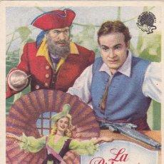 Foglietti di film di film antichi di cinema: LA PRINCESA Y EL PIRATA CON BOB HOPE Y VIRGÍNIA MAYO EN SALÓN IMPERIAL. Lote 112917023