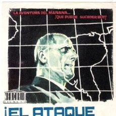 Cine: PROGAMA ORIGINAL ESTRENO EL ATAQUE VIENE DEL ESPACIO (ANDRE SMAGGHE). Lote 112928475