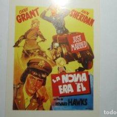 PROGRAMA LA NOVIA ERA EL .- CARY GRANT