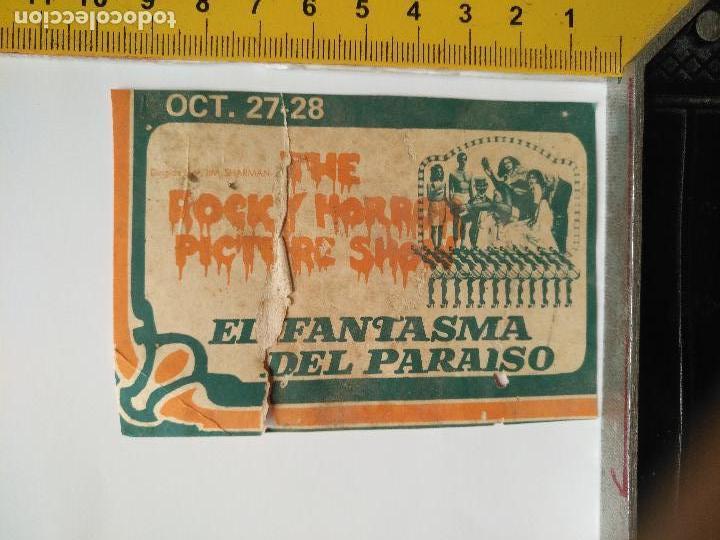 LEER BIEN - RECORTE EXTRENO CINE PUBLICIDAD - EL FANTASMA DEL PARAISO, THE ROCY HORROR PICTURE SHOW (Cine - Folletos de Mano - Clásico Español)