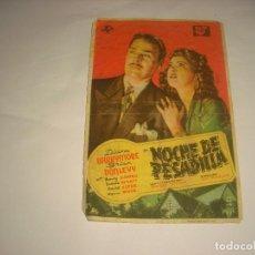 Cine: NOCHE DE PESADILLA , CINE VICTORIA. Lote 112990511