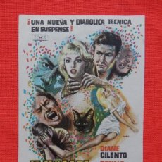 Cine: LA MUERTE LLEGA DE NOCHE, IMPECABLE SENCILLO ORIGINAL, DIANE CILENTO, SIN PUBLICIDAD. Lote 113003579
