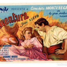 Cine: PROGRAMAS DE CINE. AVENTURA, CON JOSE NIETO, DIR. MANUEL PARADAS . Lote 113114791